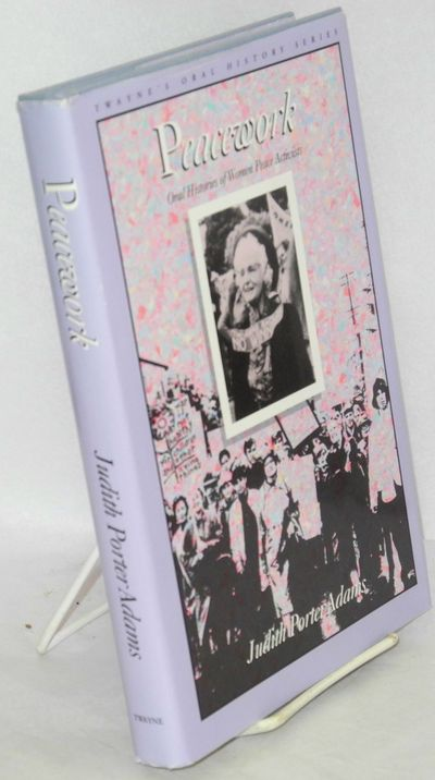 Boston: Twayne Publishers, 1990. x, 228p., first edition, dj. Twayne's oral history series.