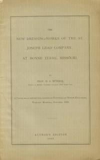 New Dressing-Works of the St. Joseph Lead Company, At Bonne Terre, Missouri