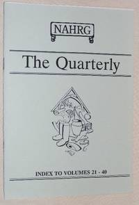 The Quarterly (Journal of the Norfolk Archaeological and Historical Research Group): Index to...