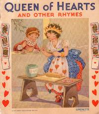 """Snow Drop with Queen of Hearts and other Rhymes """"Linenette' Series"""