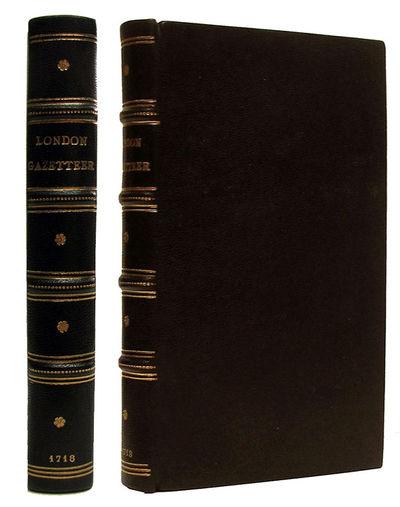 London: Sackfield, 1718. First Edition. Hardcover. , 239, pp. Modern full dark brown calf, spine wit...