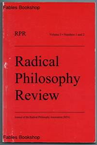 RADICAL PHILOSOPHY REVIEW.
