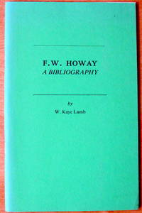 F.W. Howay. a Bibliography