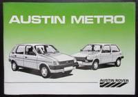 image of Austin Rover Austin Metro Owners Handbook. AKM 5593
