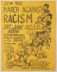 image of Join the March Against Racism... [handbill]