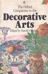 image of THE OXFORD COMPANION TO THE DECORATIVE ARTS
