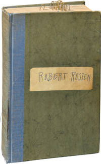 image of Lilith (First Edition, Robert Rossen's annotated copy)