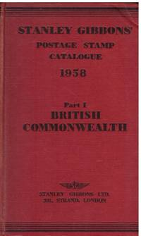 image of STANLEY GIBBONS POSTAGE STAMP CATALOGUE 1958