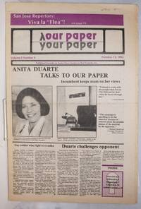image of Our Paper, Your Paper; the gay family paper of the Santa Clara Valley; vol. 1, #4, October 13, 1982