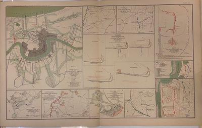 New York: Julius Bien & Co.; US War Department, 1895. Map. Color lithograph. Image measures 16 1/2