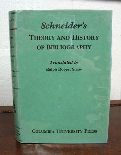 New York: Columbia University Press, 1934. 1st English. Green cloth with speckled top edge. Dust jac...