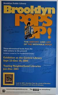(Exhibition Poster) Brooklyn Pops Up ! The History and Art of the Movable Book
