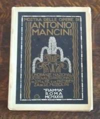 image of Mostra Delle Opere Di Antonio Mancini Exhibition of the Works of Antonio  Mancini