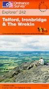 image of Telford, Ironbridge and the Wrekin (Explorer Maps)