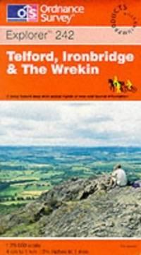 Telford, Ironbridge and the Wrekin (Explorer Maps) by Ordnance Survey