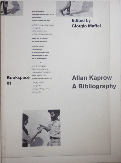 Milan: Mousse Publishing, 2011. First edition. Paperback. Near Fine. Small, wide paperbound quarto. ...