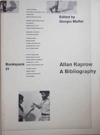 Allan Kaprow A Bibliography; Bookspace 01