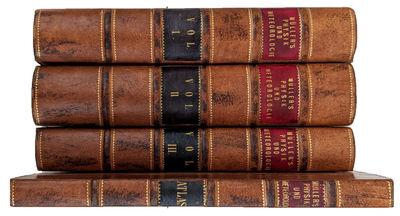 Braunschweig:: F. Vieweg, 1852, 1853, 1856., 1852. 4 volumes: 3 volumes in 8vo. + Atlas in 4to. , 64...