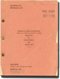image of The Meanest Gal in Town [Once Over Lightly] (Original screenplay for the 1934 film)