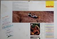 MINTEX CALENDAR 1989 - Photographed on Location in Brazil