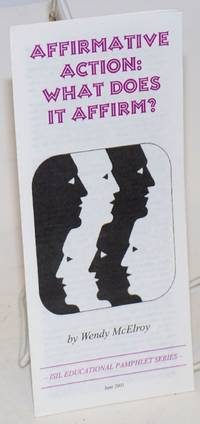 image of Affirmative action: what does it affirm