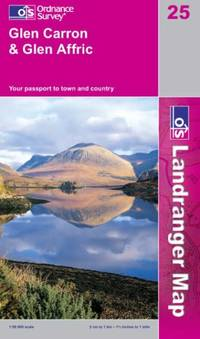 Glen Carron and Glen Affric (Landranger Maps)