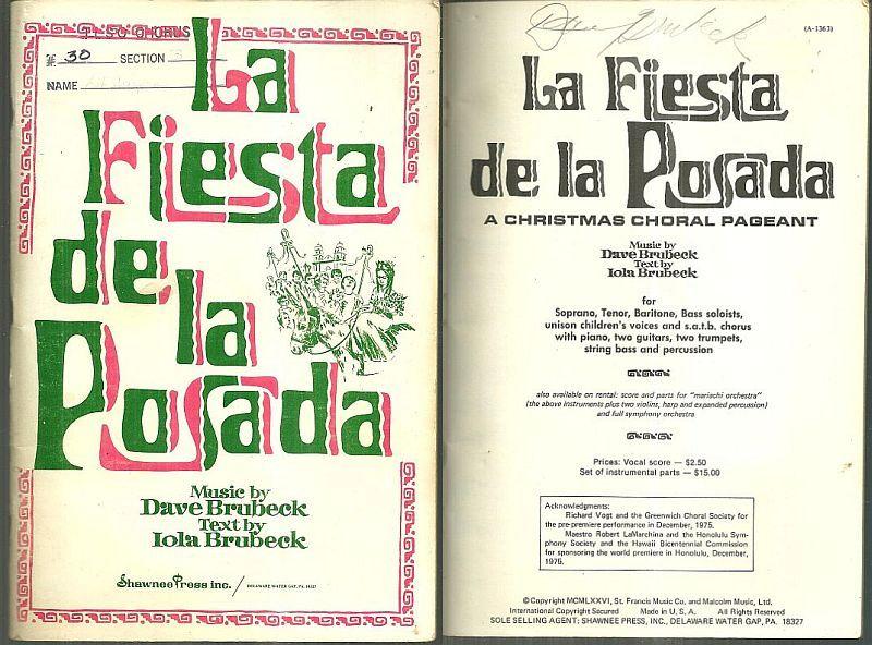 Image for LA FIESTA DE LA POSADA A Christmas Choral Pageant