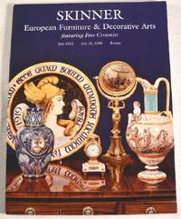 Skinner: European Furniture & Decorative Arts Featuring Fine Ceramics.  Boston, July 10, 2010, Sale 2513