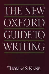 image of The New Oxford Guide to Writing