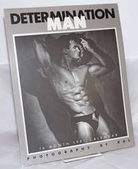 image of Dtermination Man: 16 month 1991 wall calendar