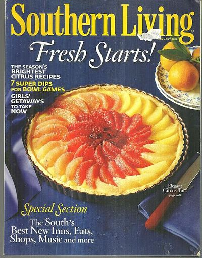 SOUTHERN LIVING MAGAZINE JANUARY 2011, Southern Living