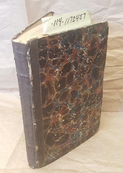 Cuoira: S. Benedict, 1833. First. 12mo; good+/none; dark brown cloth spine with no text and raised b...