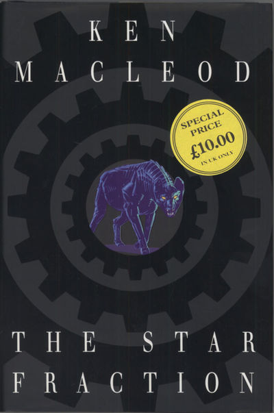 : Legend, 1995. Octavo, boards. First edition. MacLeod's first book. Runner-up for the Arthur C. Cla...