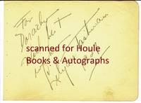 Autograph Sentiment Signed