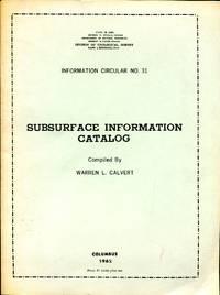 Subsurface Information Catalog