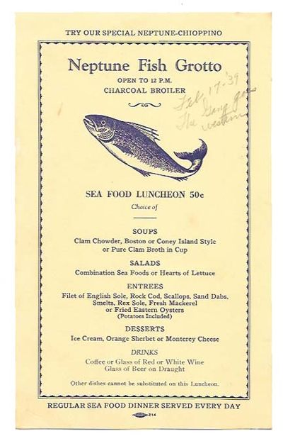 San Francisco: Allied Printing, 1939. 1st Printing. Light yellow card stock, navy blue lettering, no...