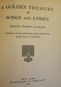 A GOLDEN TREASURY OF SONGS AND LYRICS