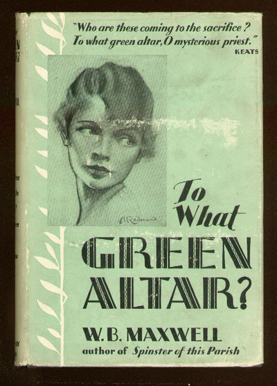 Garden City: Doubleday Doran, 1930. Hardcover. Very Good/Very Good. First American edition. Contempo...