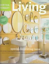 Martha Stewart Living Magazine September 2003