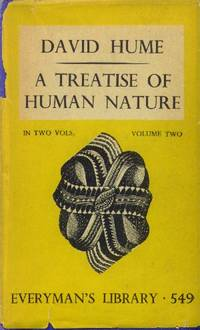 image of A Treatise of Human Nature; In Two Volumes  (Volume Two Only) Everyman's Library 549