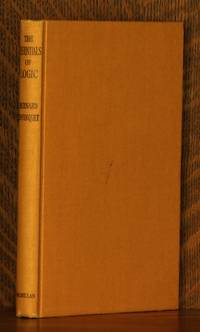 THE ESSENTIALS OF LOGIC, BEING TEN LECTURES ON JUDGMENT AND INFERENCE by Bernard Bosenquet - Hardcover - Later printing - 1960 - from Andre Strong Bookseller (SKU: 19057)
