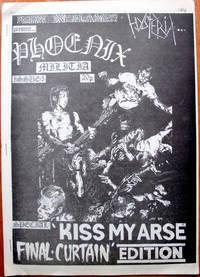 image of Backlash Issue #5. Heavy Metal Zine.