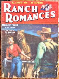 image of Comanche Prairie. Short Story in Ranch Romances Volume 195 Number 1, November 18,, 1955.
