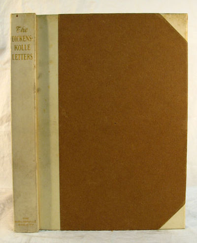 Cambridge: The Bibliophile Society, 1910. 1st edition., 1st issue. Half-bound with parchment & brown...