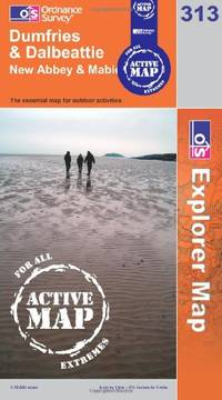 Dumfries and Dalbeattie (OS Explorer Map Active)