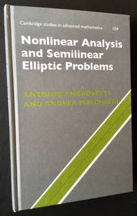 Nonlinear Analysis and Semilinear Elliptical Problems