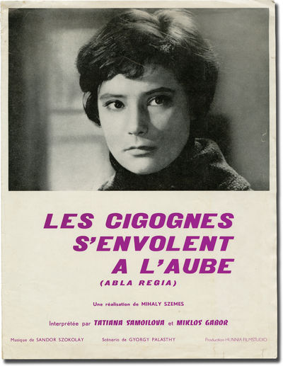 Paris: Ucinex, 1963. Original pressbook for the 1963 French release of the 1961 Hungarian film, here...