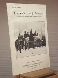 The Valley Forge Journal: Volume IV, Number 2