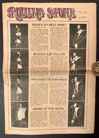 Rolling Stone (Issue #5, February 10th, 1968 -- with 2 Separate Strips of Jim Morrison on the Front Cover)