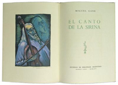 Buenos Aires: Sociedad de Bibliofilos Argentinos, 1966. First edition. Loose in printed wrappers, la...